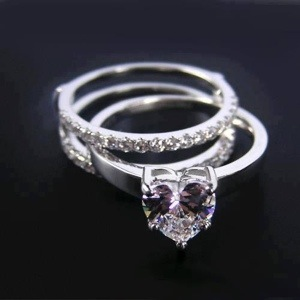Her future ring.