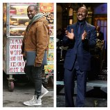 Kanye West and Eddie Murphy